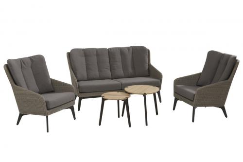 4 Seasons Outdoor luxor loungeset stoel-bank-tafel