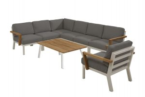 4 Seasons Outdoor Byron hoekbank louncheset