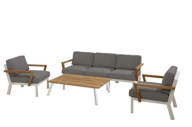 4 Seasons Outdoor Byron loungeset stoel bank tafel
