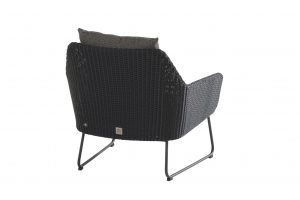 4 Seasons Outdoor Avila loungestoel antraciet