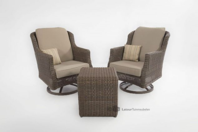 4 Seasons Outdoor Brighton swivel rocker