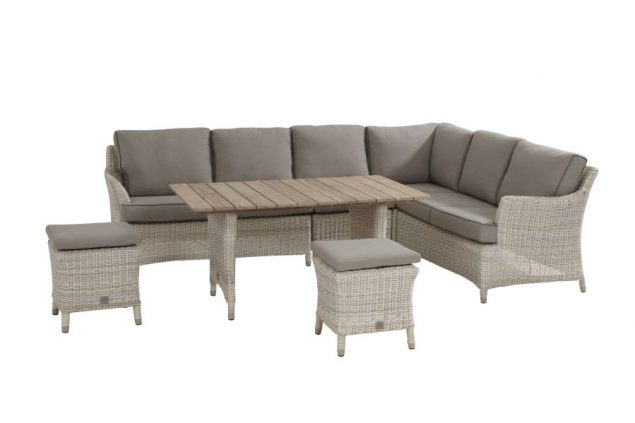 4 Seasons Outdoor Valentine cosy dining loungeset