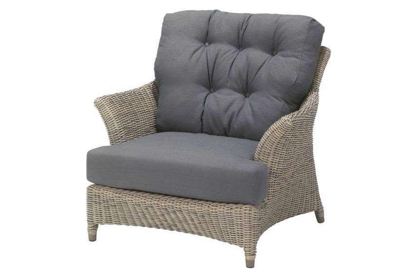4 Seasons Outdoor Valentine loungestoel. 4 Seasons Outdoor Valentine fauteuil