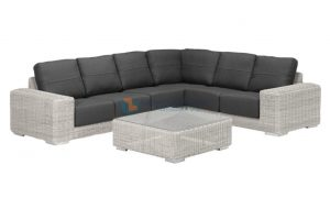 4 Seasons Outdoor kingston hoekbank ice kleur