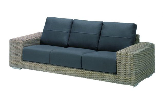 4 Seasons Outdoor kingston loungebank 3 personen