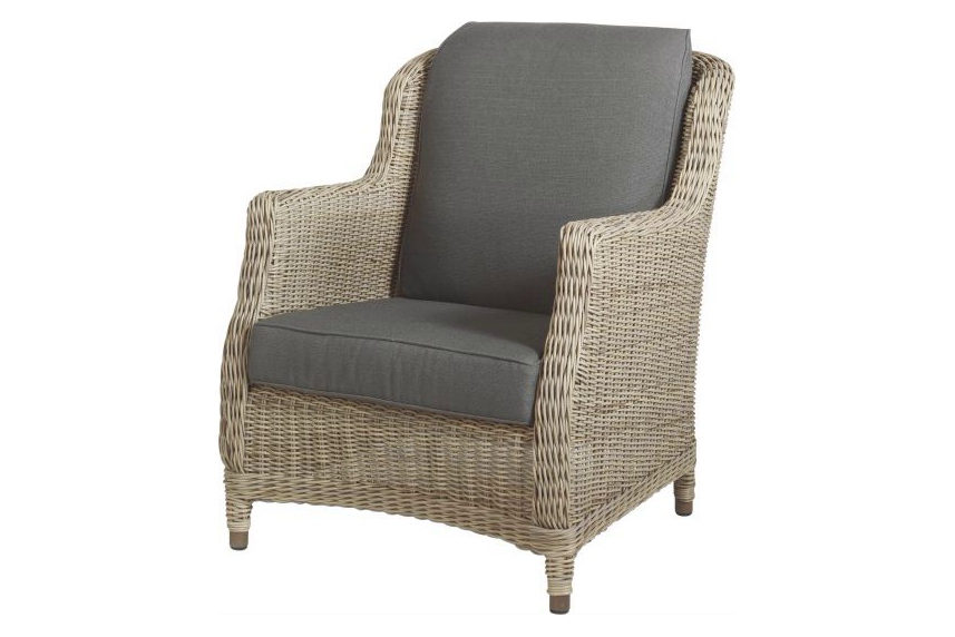 4 seasons otudoor brighton loungestoel fauteuil pure