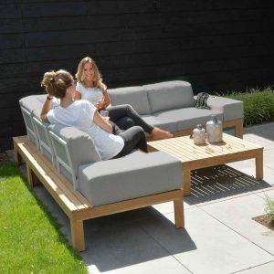 4 seasons outdoor mistral teak loungeset