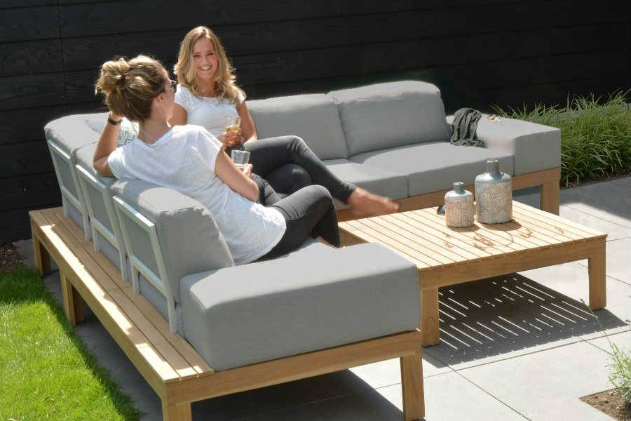 4 seasons outdoor mistral teak loungeset