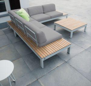 4 Seasons Outdoor Mistral platform loungeset