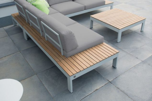 4 Seasons Outdoor Mistral platform loungeset