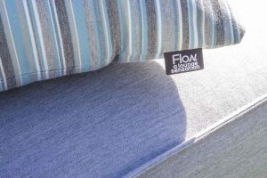 Flow. | Cube chaise lead chiné sfeerfoto