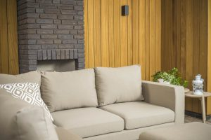 Flow square loungeset taupe