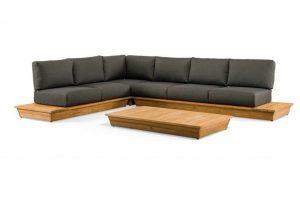 Suns isla loungeset 6 personen hoekbank loungeset platform loungeset