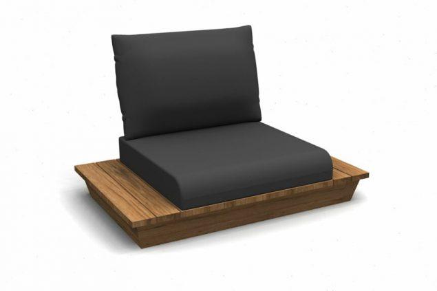 Suns isla loungestoel, tuin fauteuil
