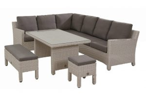 Taste by 4 seasons outdoor Adora cosy loungeset frost