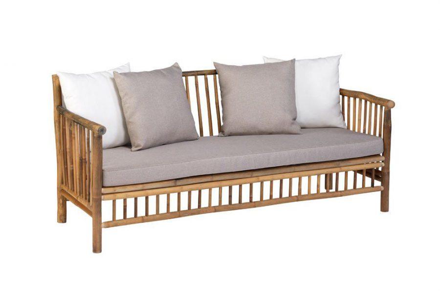 Exotan bamboe loungebank